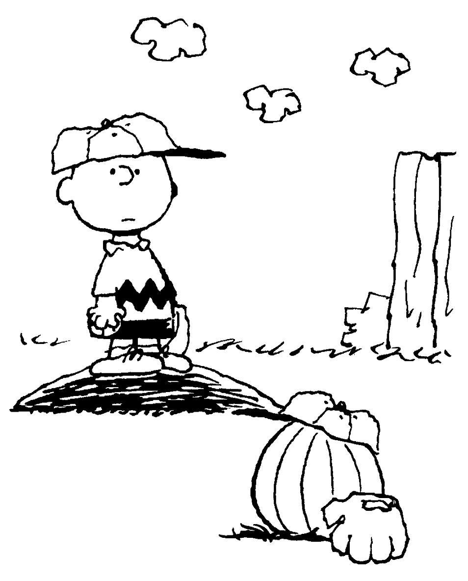 Dibujo Para Colorear Charlie Brown 01