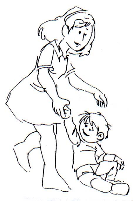 Dibujo para colorear Familia 03