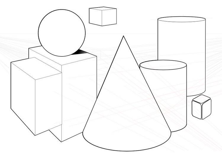 Dibujo Para Colorear Figuras Geometricas 05
