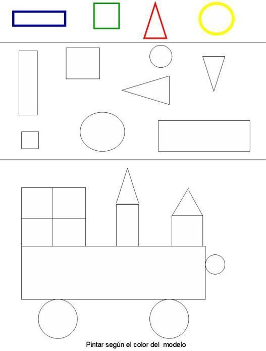 Dibujo Para Colorear Figuras Geometricas 08