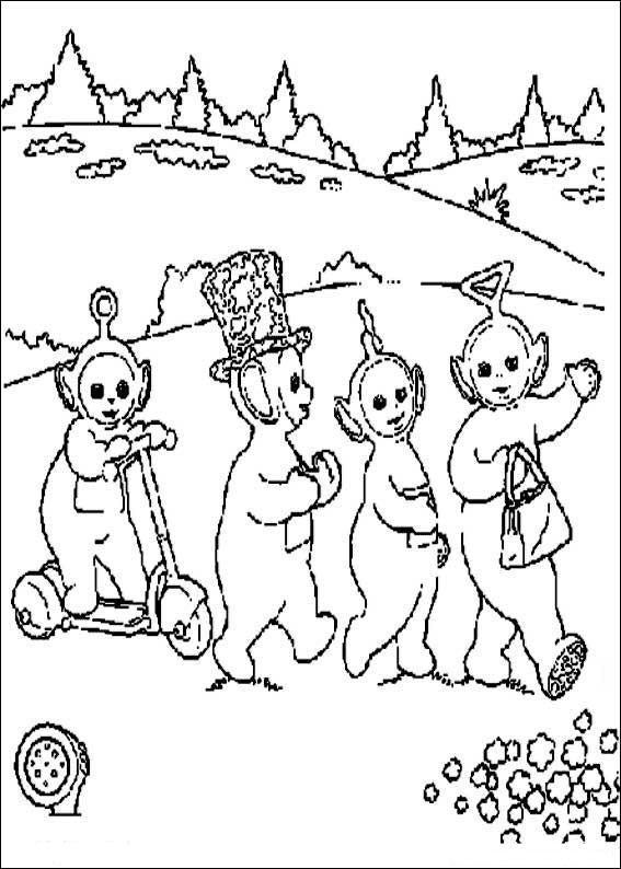 Dibujo Para Colorear Patito 00