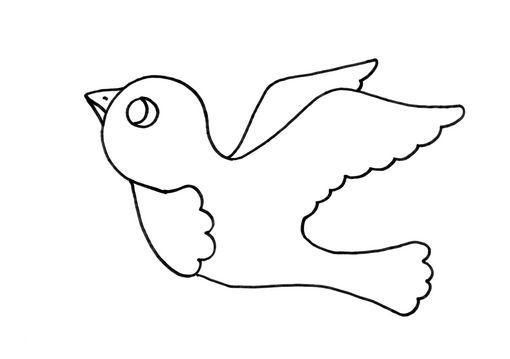 Dibujo para colorear Pjaro