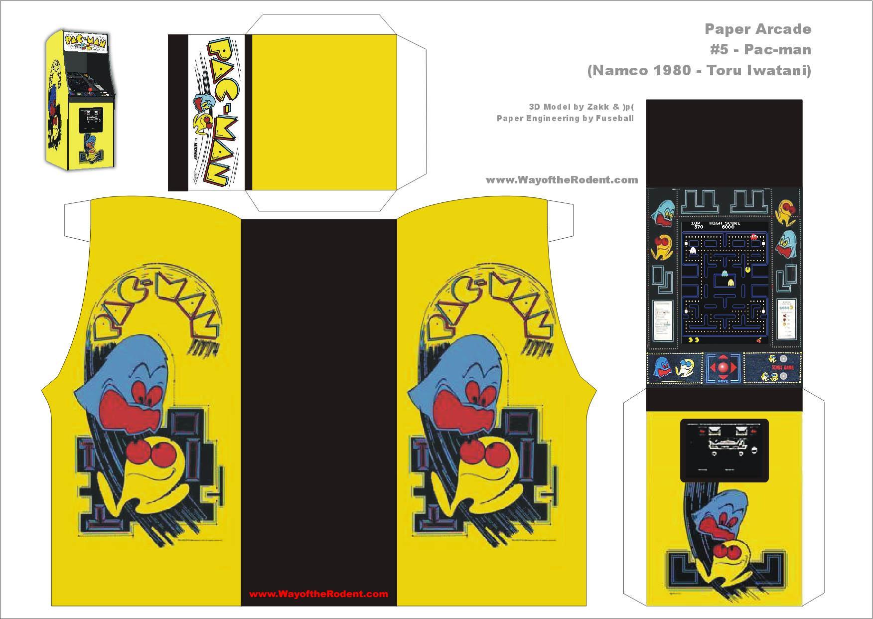 Dibujo recortable Pacman